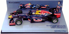 Minichamps Red Bull RB8 Brazilian GP 2012 - S Vettel World Champion 1/43 Scale