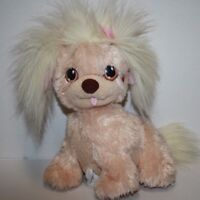 "Puppy Surprise DOG 10"" Tan Plush MOM Stuffed Animal Soft Toy Playskool Hasbro"
