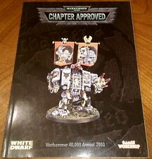 Chapter Approved 2003 Annual - Warhammer 40K OOP