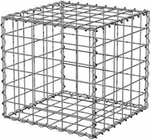 Gabion Basket / Cages Retaining Stone Garden Wall 50 x 50 x 50cm (Helicoils)