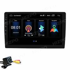 "Universal Android 2+64GB 9"" GPS SatNav Car Stereo Radio WiFi BT w/ Backup Camera"