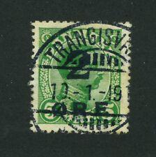 Faroe Islands Stamp # 1 Used - SUPERB - SOTN 19.1.19 Cat. Value $475.00 (S192)