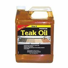 Star Brite Premium Golden Teak Oil 1 Gallon 85100 Long lasting formula MD