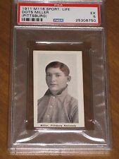 M116 Sporting Life Dots Miller - Pittsburg PSA 5