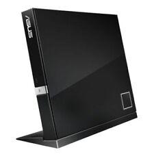 ASUS SBW-06D2X-U SLIM EXTERNAL USB 2.0 6X BLU-RAY DVD CD WRITER BURNER - MAC/WIN