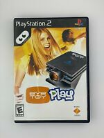 Eye Toy Play - Playstation 2 PS2 Game - Complete & Tested