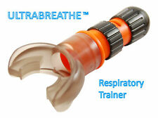 Ultrabreathe With FREE Spare Mouthpiece. Lung Power Breathing Exerciser, Snoring