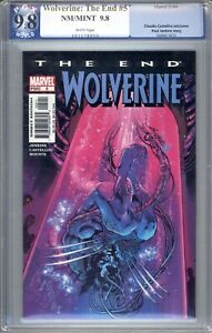 Wolverine: The End #5  PGX Graded 9.8 (NM/M) 2004 - Discounted!