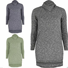 Women's Polyester Cowl Neck Jumpers & Cardigans