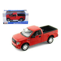2010 Ford F-150 STX Pickup Truck Red 1/27 Diecast Model by Maisto 31270r