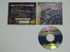 SEGA Saturn DEATH CRIMSON Import Japan 2000185