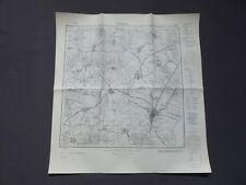 Landkarte Meßtischblatt 2142 Neukalen, Groß Markow, Schorrentin, Kämmerich, 1945