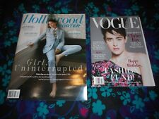CLAIRE FOY - VOGUE/HOLLYWOOD REPORTER MAGAZINES - OCTOBER/NOVEMBER 2018
