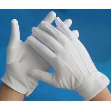 WHITE FORMAL PAIR GLOVES TUXEDO GUARD PARADE SANTA MENS INSPECTION FANCY DRESS