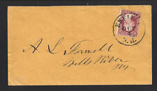 ENFIELD, NEW HAMPSHIRE COVER. Manila envelope to Mill River, NY.