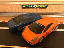 Scalextric Lamborghini Gallardo Drift Fully Serviced & New Braids Fitted