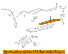 GM OEM Wiper-Rear Window Arm 84059856