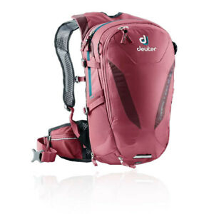 Deuter Womens Compact EXP 10 SL Backpack Red Sports Outdoors Breathable