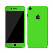 Textured Skin Sticker for APPLE iPHONE 7 Carbon - Wood - Matt - Tempered Glass