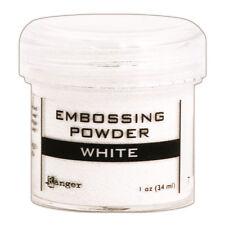 Ranger Embossing Powder 1oz Jar-White