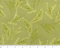Giving Thanks Green Robert Kaufman Prints 100% Quilting Cotton Fabric #18400