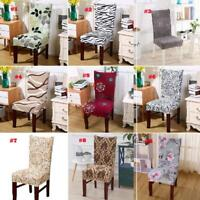 For Banquet Dinning Room Home Decor Spandex Elastic Slipcovers Seat Chair Cover