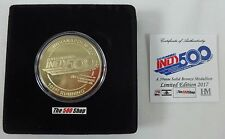 2017 Indianapolis 500 101ST Running & IndyCar Gold / Bronze Event Collector Coin