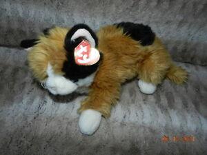 "Classic Ty 12"" Plush Stuffed Animal Calico Carley"