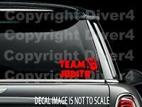 The Walking Dead Team Judith Vinyl Car Window Decal Bumper Sticker US Seller