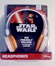 Disney Star Wars Kid Friendly Volume Reduced BB-8 Headphones New Sealed