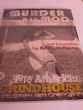 Murder A la Mod-Horror-Brian De Palma-Grindhouse classic-Andra Akers