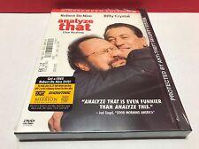 Analyze That (DVD, 2003, Full Frame) NEW SEALED