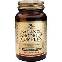 Solgar Balance Rhodiola Complex Vegetable Capsules 60
