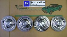 Rally Wheel Center Cap 66 67 Flat Disc Brake 4pc GM Restoration Parts hub caps