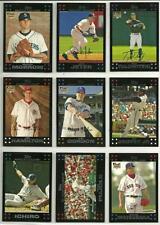 2007 Topps Lot/325 BB Cards Morrow Gordon Hamilton Tulowitzki Matsuzaka RC's