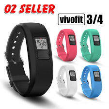 Silicone Replacement Watch Band Wrist Strap for Garmin Vivofit 1/2/3/4 Tracker