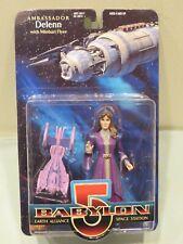 Moc Babylon 5 Ambassador Delenn Action Figure 1997 Exclusive Toy Products