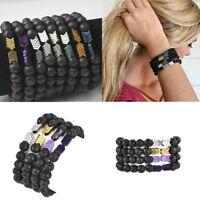 Fashion Sacred Arrow Lava Stone Diffuser Bracelet Sacred Arrow Diffuser Bracelet