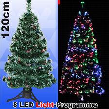 Weihnachtsbaum Fiberglas Schneeflocken 90cm Tannenbaum künstlich LED beleuchtet