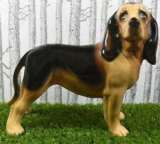 Lovely Large Coopercraft Bloodhound Dog Figure