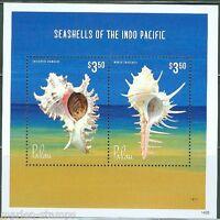 PALAU 2014 SEASHELLS OF THE CARIBBEAN SOUVENIR SHEET  I  MINT NH