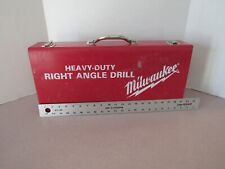 "Milwaukee 1/2"" Right Angle Drill in case"