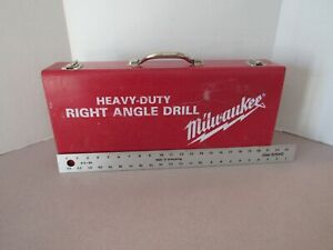 """Milwaukee 1/2"""" Right Angle Drill in case"""