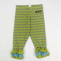 Matilda Jane Paint By Numbers Emerald Argyle Leggings Icings Size 18 Months