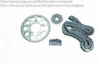 Triumph Adventurer 900 (1) 96' Front and Rear Sprocket Chain