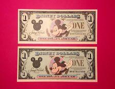 1990 & 1994 Mickey Disney Dollars