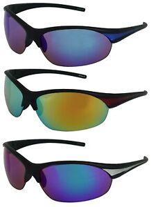 Protective Outdoor Sport Sunglasses UV400 for Men Women Best for Golf Running