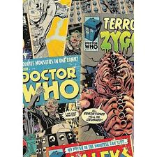 Official Dr Who Wallpaper BBC Childrens Cartoon Comic Pattern WP4-DWH-COM-12