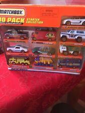 Vintage MATCHBOX 10 PACK STARTER COLLECTION With Mustang & Jaguar - New