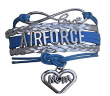 Airforce Mom Jewelry - Airforce Mom Bracelet - Perfect Gift For Airforce Mom